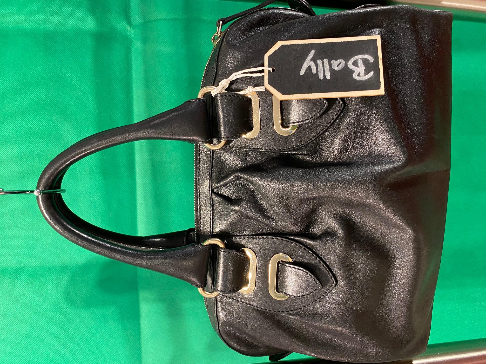 Bally Tasche Leder schwarz NP 600,-