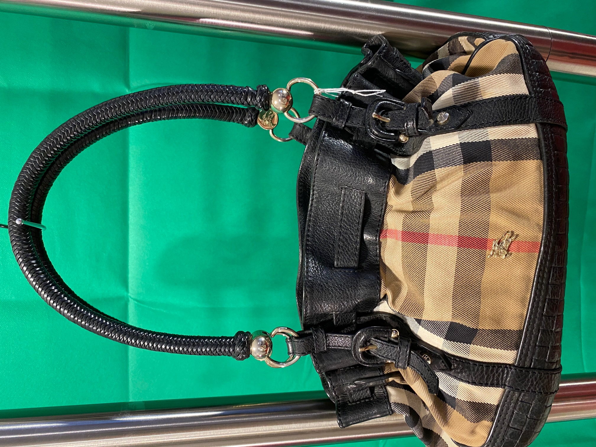 Original Burbery Tasche Neupreis 1000,-